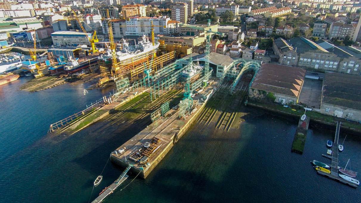 astilleros armada - reparación de buques - instalaciones