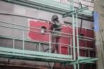 astilleros armada - reparación de buques - chorreado del casco