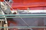 astilleros armada - reparación de buques - fregado del casco