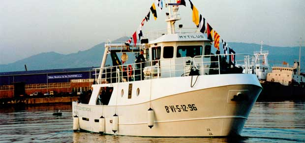 Astilleros Armada - Construcción de buques - Mytilus