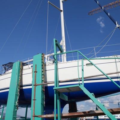 astilleros armada - reparación de yates